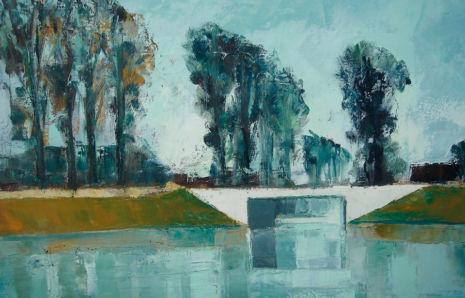 Le Canal, Rousseau (Cher), 1964